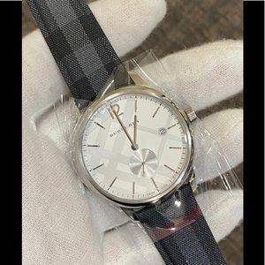 NIB Burberry Check Watch